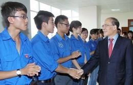 Chủ tịch Quốc hội dự lễ khai giảng tại Đại học Luật Hà Nội