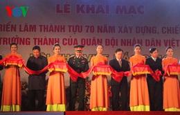 Khai mạc triển lãm 70 năm Quân đội nhân dân Việt Nam