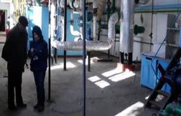 Dân Donetsk sợ trời rét vì thiếu khí đốt