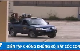 Diễn tập chống khủng bố, giải cứu con tin tại cảng hàng không Cam Ranh