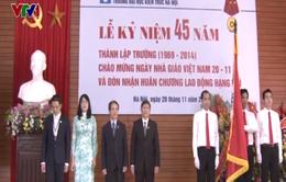 Đại học Kiến trúc đón nhận Huân chương Lao động hạng Nhì