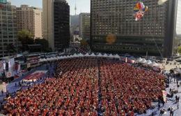 2.300 bà nội trợ Hàn Quốc chế biến kim chi tặng người nghèo