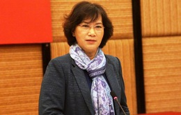 Phó Chủ tịch Quốc hội Nguyễn Thị Kim Ngân tiếp đoàn đại biểu dân tộc tỉnh Hà Giang
