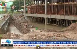 Bắc Ninh: Xây nhà trái phép trên kênh mương thủy lợi