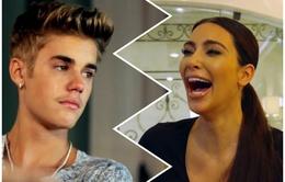 "Justin Bieber bị Kim ""siêu vòng 3"" đè bẹp trên Instagram"