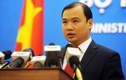 Việt Nam hoan nghênh Hạ viện Mỹ thông qua Nghị quyết Biển Đông