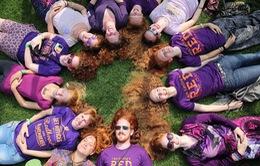 Độc đáo lễ hội dành riêng cho những người tóc đỏ