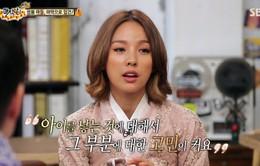 Lee Hyo Ri lo lắngvề chuyện có con