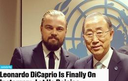 Leonardo DiCaprio tham gia mạng xã hội Instagram