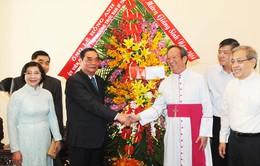 Đồng chí Lê Hồng Anh chúc mừng Giáng sinh Tổng Giáo phận TP.HCM