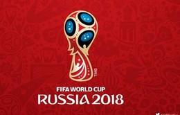Nga công bố logo World Cup 2018 trên trạm không gian vũ trụ