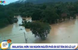 Malaysia: Hơn 100.000 người đi sơ tán do lũ lụt