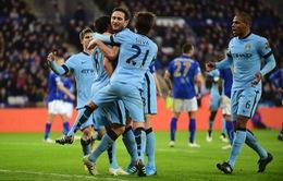 Man City có 3 điểm sân khách nhưng vẫn không vui