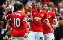 """Rooney giúp Man Utd có trận thắng """"xấu hổ"""" trước West Ham"""