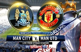 Man City - Man United: Rooney chấn thương, Pellegrini vẫn e dè
