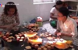 Nghề dát vàng lá ở Myanmar