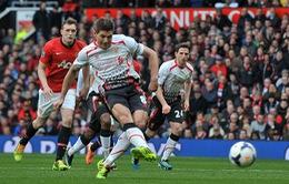 20h30, K+1, Man Utd – Liverpool: Bùng nổ derby nước nước Anh