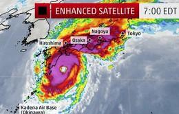Bão Phanfone đổ bộ Nhật Bản, giao thông rối loạn