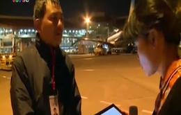 Máy bay Vietnam Airlines hạ cánh khẩn cấp: Do trục trặc kỹ thuật