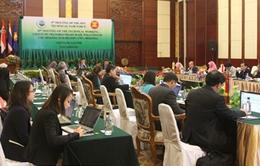 Hội nghị không chính thức Bộ trưởng môi trường ASEAN