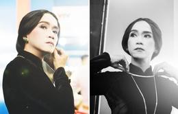 Minh Thuận kiêu sa hóa thân NSND Bạch Tuyết
