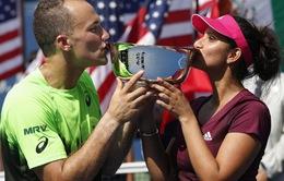 Cặp Mirza - Soares vô địch đôi nam nữ US Open 2014