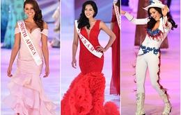 """Hoa hậu thế giới 2014: """"Đã mắt"""" với sự quyến rũ của các người đẹp"""