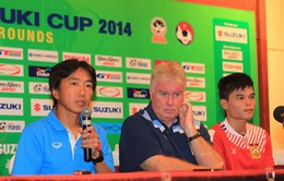AFF Cup 2014: Thầy trò Miura sẵn sàng chơi tấn công