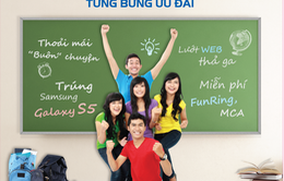 Mobifone khuyến mại lớn mùa sinh viên tựu trường