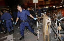 Hong Kong giải tán điểm biểu tình Mong Kok