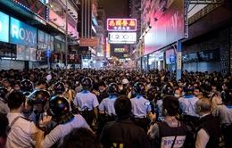 Hong Kong: Thủ lĩnh biểu tình bị cấm hiện diện tại Mong Kok