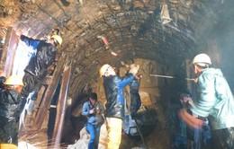 Vụ sập hầm thủy điện: Bắt đầu bơm hút nước ngập trong hầm ra ngoài