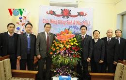 Mặt trận Tổ quốc chúc mừng Tổng hội Hội thánh Tin Lành Việt Nam
