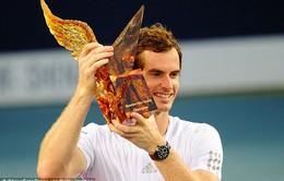 Murray giải cơn khát danh hiệu bằng chức vô địch Shenzhen Open