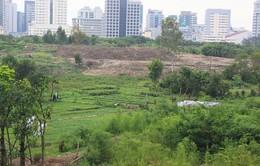 Nhiều dự án treo ở quận Nam Từ Liêm biến thành nơi đổ phế thải