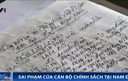 Xử lý sai phạm cán bộ chính sách tại Nam Định