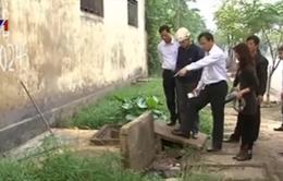 Thái Bình: Bắt quả tang DN xả nước thải chưa qua xử lý ra môi trường