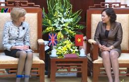 NHNN Việt Nam tiếp Thị trưởng Trung tâm Tài chính London
