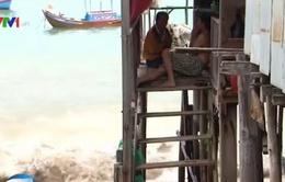 Ứng phó bão số 5, Khánh Hòa di dời các hộ dân ra khỏi nhà chồ