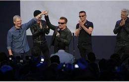 U2 cho fan nghe album mới miễn phí qua iTunes