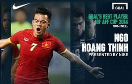 Hoàng Thịnh dẫn đầu danh sách cầu thủ xuất sắc nhất AFF Suzuki Cup 2014