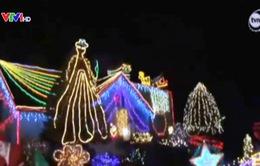 Ba Lan: Kỷ lục trang trí nhà đón Giáng sinh