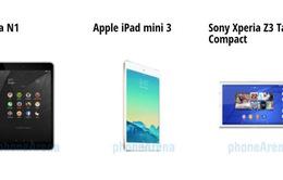 Chọn Nokia N1 hay iPad Mini 3, Xperia Z3?