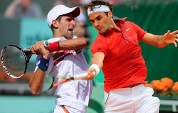 Bán kết Thượng Hải Masters 2014: Roger Federer đối đầu Novak Djokovic