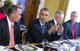 Mỹ: Tổng thống Obama gặp lãnh đạo Quốc hội lần đầu sau bầu cử