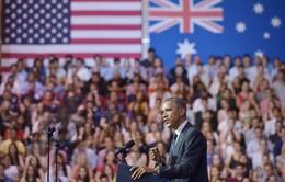 Mỹ tái khẳng định chính sách xoay trục sang châu Á