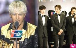 MAMA 2014: Tae Yang, EXO bội thu giải thưởng
