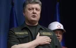 Tổng thống Ukraine thăm thành phố cảng miền Đông