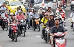 Từ 09/01/2015, TP. HCM bắt đầu thu phí xe máy