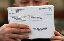 Scotland đòi bỏ phiếu nếu Anh không tăng quyền hạn